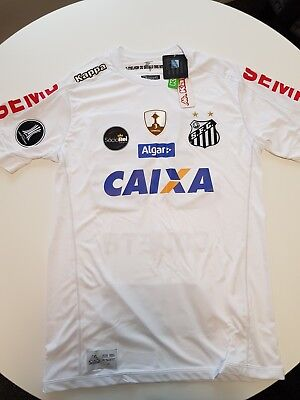 Santos FC Jersey Home 2017 Size M w/ Tags - Maillot/Camiseta/Camisa/Maglia