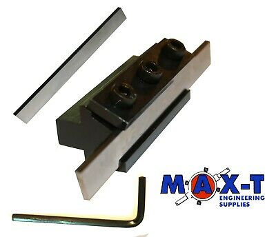 "Parting Off Lathe Tool Holder with 3/32"" X 1/2"" X 3-1/2"" HSS Blade"