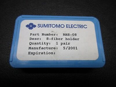 SUMITOMO ELECTRIC RHS-08 8-Fiber Holder Pair SET