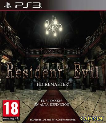 Resident Evil HD PS3 Digital Download Game - Leer Descripción
