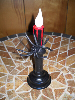 USB LED Halloween Spider Candle