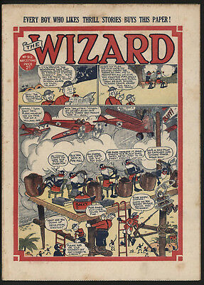 Wizard #912, 25Th May 1940, Rare War Time Issue, Great Cover, Good Condition