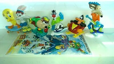 Kinder 2009, Looney Tunes Winter Sports, Italy, compl. set with all Bpz