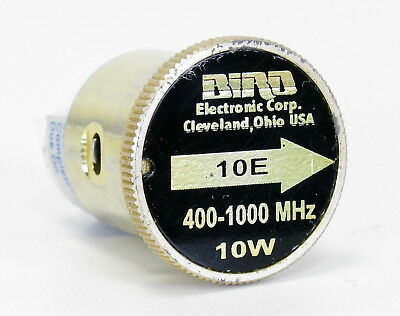 BIRD elemento 10E 400-1000 MHz 10W element 43 tappo 4381 4391A - 1