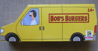 SDCC San Diego Comic Con 2018 Bob's Burgers Van Collector Set Free Shipping