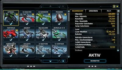 DARKORBIT ACCOUNT, GLOBAL Europa 1