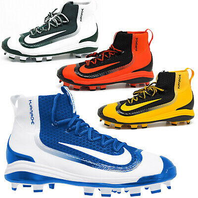 e1c69cfb26e0c New Nike Alpha Air Huarache 2k Filth Elite Mid MCS Mens Baseball Cleats  Molded