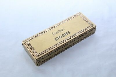 "Vintage Neiman Marcus Pencils in Gold ""Stogie""  Box of 19 Vintage Rare"