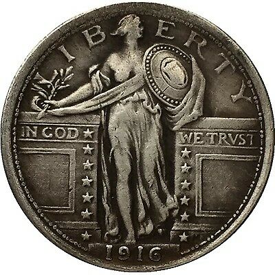 United States 1916 STANDING LIBERTY QUARTER DOLLARS  FREE SHIPPING