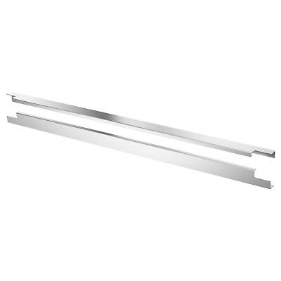 IKEA Blankett Slim aluminium handle (2 pack) 795mm NEW 102.222.32