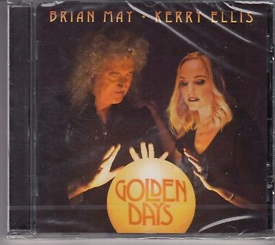 BRIAN MAY & KERRY ELLIS Golden Days CD NEW SEALED QUEEN freepostworldwide