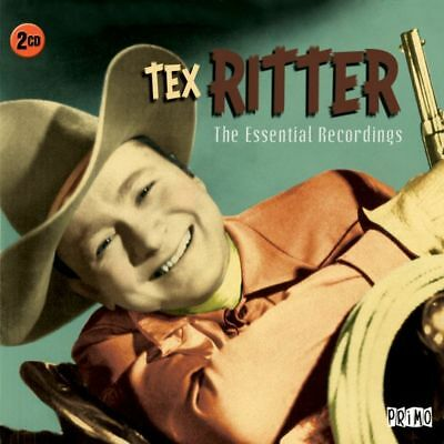 Tex Ritter ESSENTIAL RECORDINGS Best Of 40 Songs COLLECTION New Sealed 2 CD