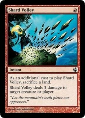 1x Shard Volley MTG Morningtide NM Magic Regular