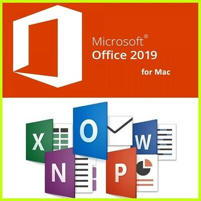 Microsoft Office 2019 Standard ONLY FOR MAC Genuine  One Key Per Person