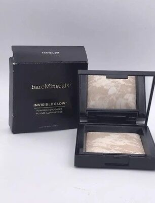 BareMinerals Invisible Glow Powder Highlighter -Fair to Light- 0.24 oz NIB💯