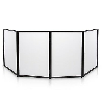 DJ Booth Cover Screen - DJ Façade Front Board Display Scrim Panel