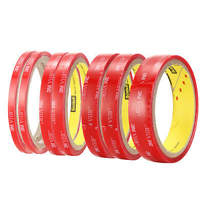 3M VHB #4905 Double-sided Clear Acrylic Foam Adhesive Tape Width 5mm-20mm