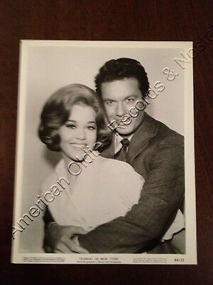 "JANE FONDA & CLIFF ROBERTSON - 1964 ""Sunday In New York"" photo (MGM) GREAT!"
