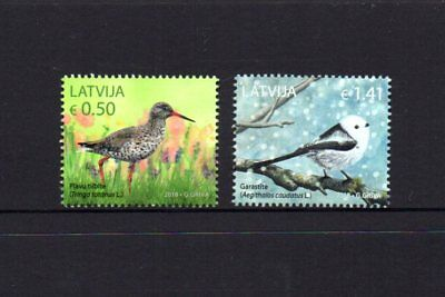 Latvia 2018 Birds Set 2 MNH