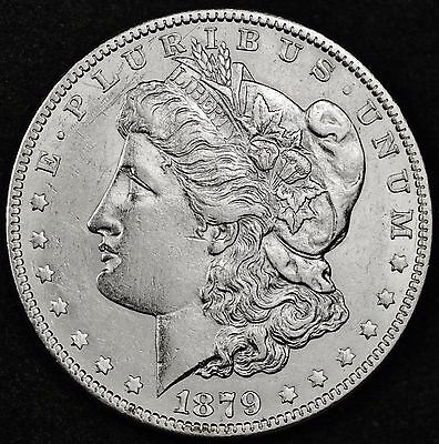 1879-o Morgan Silver Dollar.  High Grade.  100370  (Inv. A)