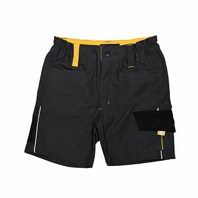 Roadsign Men's Work Trousers Shorts, Anthracite