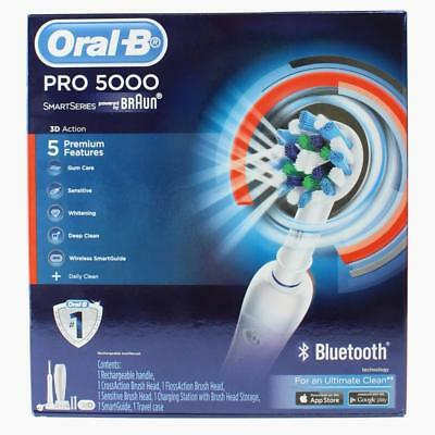ORAL B RECHARGEABLE TOOTHBRUSH PRO 5000 SMART SERIES 100% Brand New