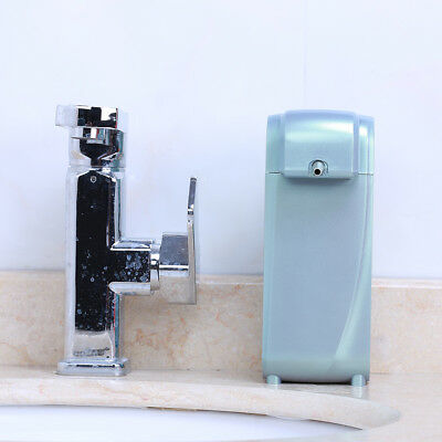 Wall Mounted Countertop Automatic Soap Dispenser Touch-free Sensor Green