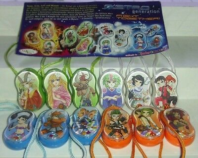 Kinder 2005, Astro Generation, compl. set with all Bpz.