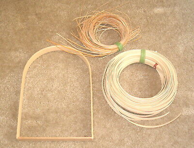 New Assorted Basket Making Supplies  001    Reeds    Handle