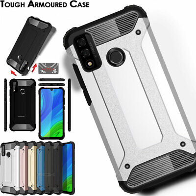 TOUGH ARMOURED ShockProof Hard Protective Case Cover for New Huawei P Smart 2019