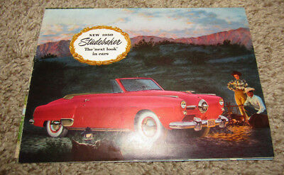 Vintage 1950 Studebaker Car Sales Brochure Land Cruiser