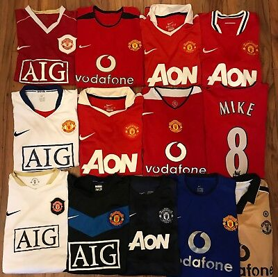 Manchester United Football Shirt, All Sizes, All Seasons, Great