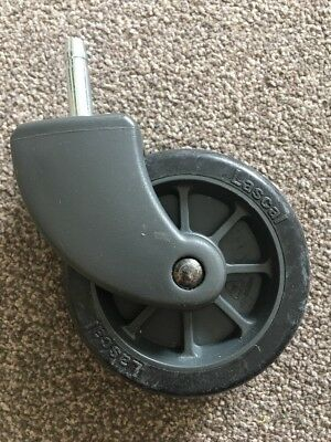 Genuine Lascal Buggy Board Grey Wheel Brand New For Older Boards