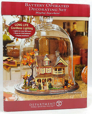 Dept 56 Snow Village ~ Thanksgiving At Grandmother's House ~ Mint In Box 55358