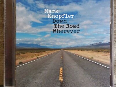 MARK KNOPFLER-Down The Road Wherever-2018 CD DIRE STRAITS