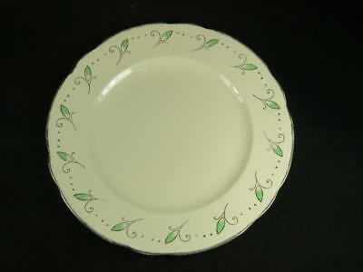 REPLACEMENT CHINA Vintage ROYAL MARIGOLD Starter Plate Green Alfred Meakin 1930s