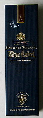 Collectable Empty Liqor Bottle And Box Johnnie Walker Blue Label Scotch Whisky