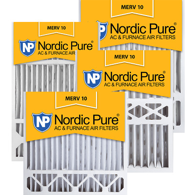 Nordic Pure 12x36x1 Exact MERV 10 Pleated AC Furnace Air Filters 1 Pack