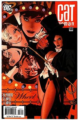 Catwoman #58 Adam Hughes Cover NM/MT