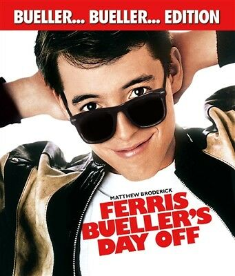 FERRIS BUELLER'S DAY OFF New Sealed Blu-ray Bueller Bueller Edition