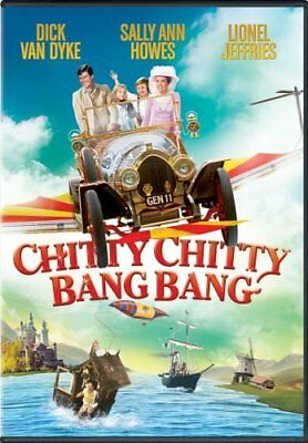 CHITTY CHITTY BANG BANG New Sealed DVD Widescreen Dick Van Dyke