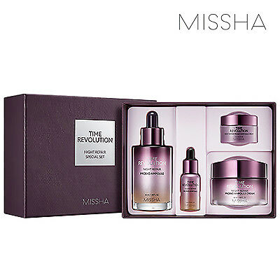 [MISSHA] Time Revolution Night Repair Special Set 2019 NEW / K-BEAUTY