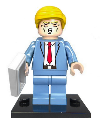 Lego Sammlerstück Donald Trump Mini Figur Make America Great Again Figure