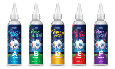 "120mI. E Liquid / Fruit Juice e Vape - 3mg - Different Flavors ""Peace da Ball"""