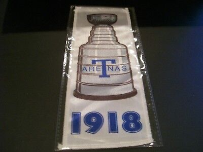 2017/18 UD Toronto Maple Leafs Centennial 1918 SC Championship Banner