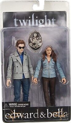 "Neca Twilight 7"" EDWARD & BELLA Action Figure 2 pack - 2009"