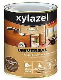 Barniz Universal Satinado Nogal 750 Ml