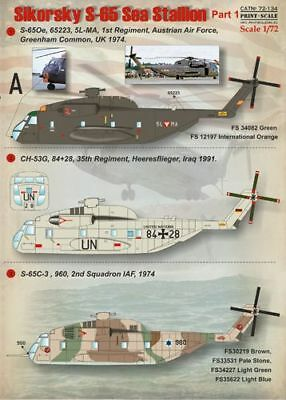 Print Scale 1/72 Sikorsky S-65 Sea Stallion Part 1 # 72134
