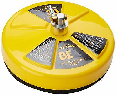 """BE Whirlaway 14"""" Rotary Flat Surface Cleaner Pressure Washer Water 276 bar"""