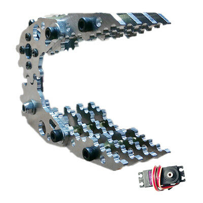 RC Robot Arm Metal Mechanical Claw,Clamp Claw Manipulator DIY Kit for Robots